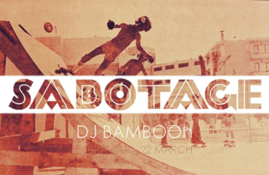 Sabotage 18 white f