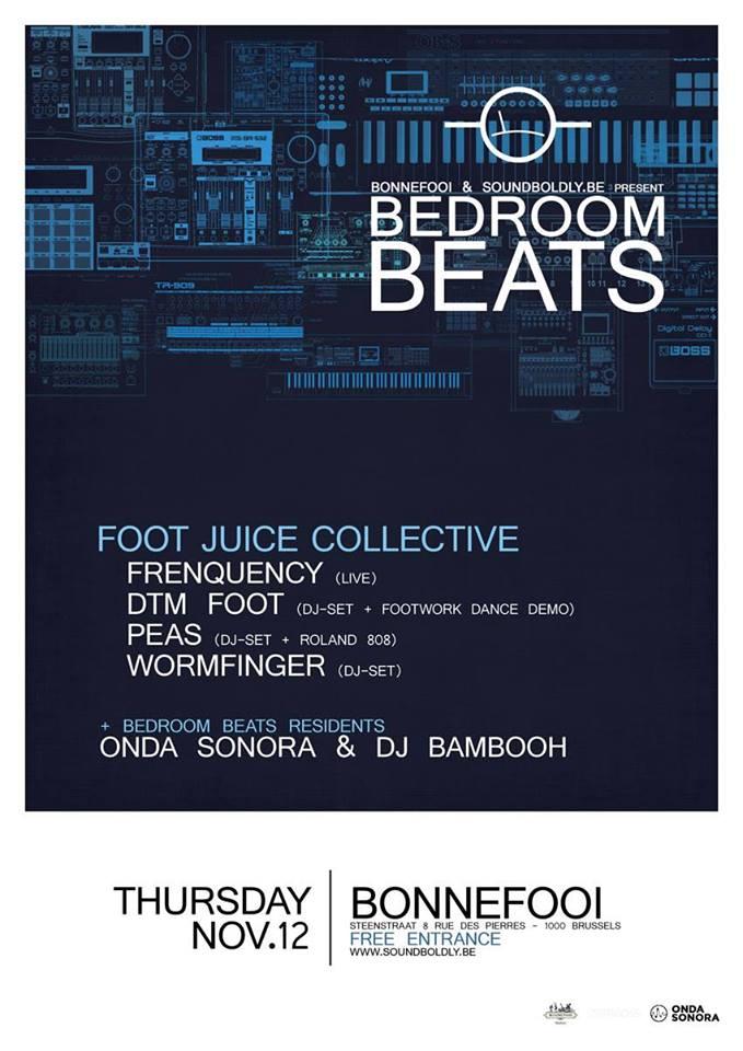 bedroom beats foot juice x DJ bambooh