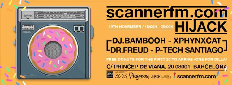 DJ Bambooh scanner FM Dosce Workz