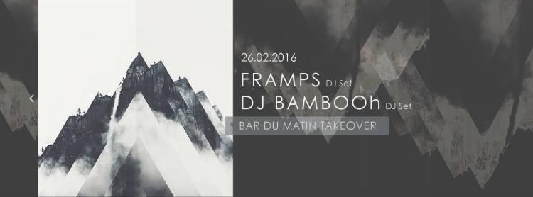 FRAMPS x DJ BAMBOOH